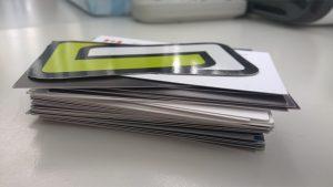 Business Cards Cartoon Games WastedStudios