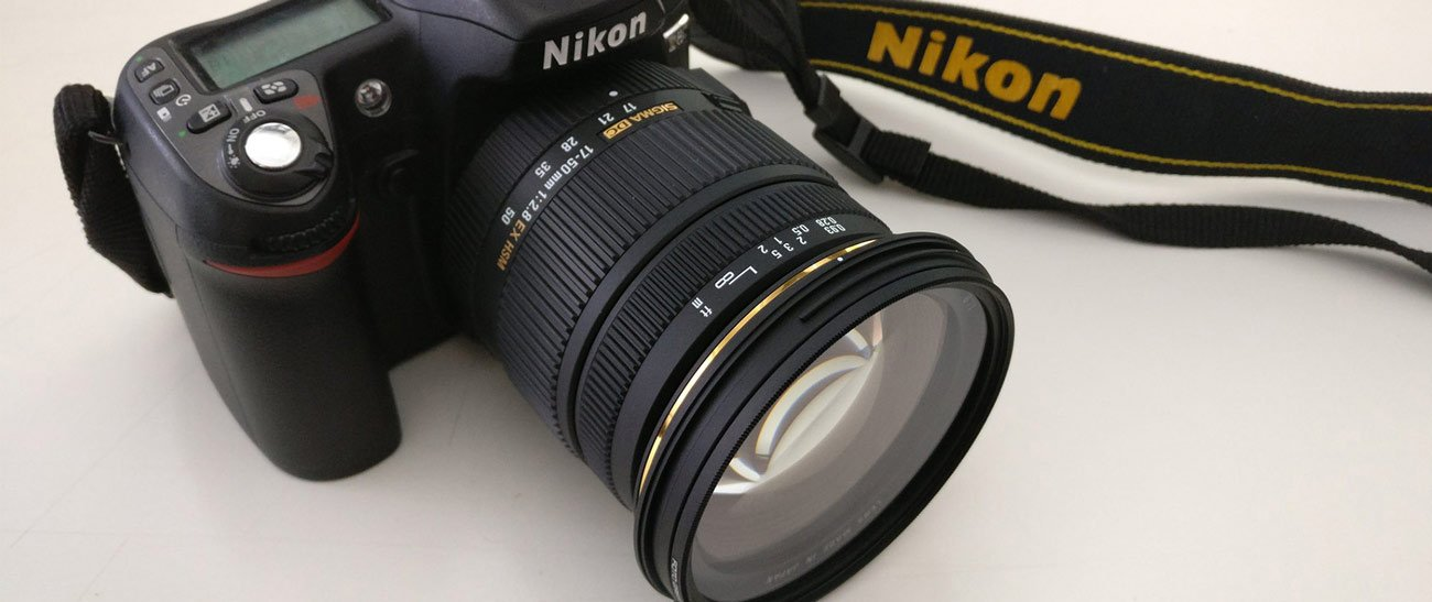 Nikon Body with Sigma Lens
